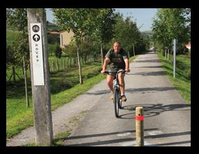 Cuatro sendas verdes para paseantes y cicloturistas