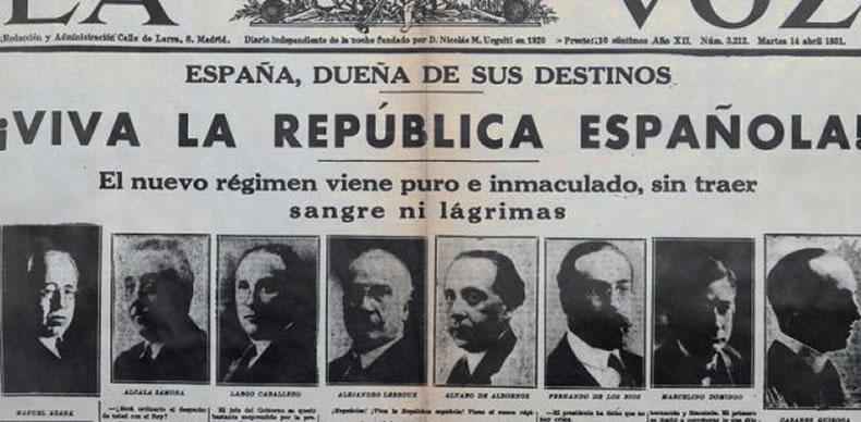La prensa en 1931