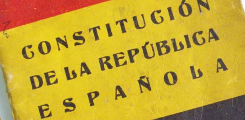 Constitución democrática de la II República española.