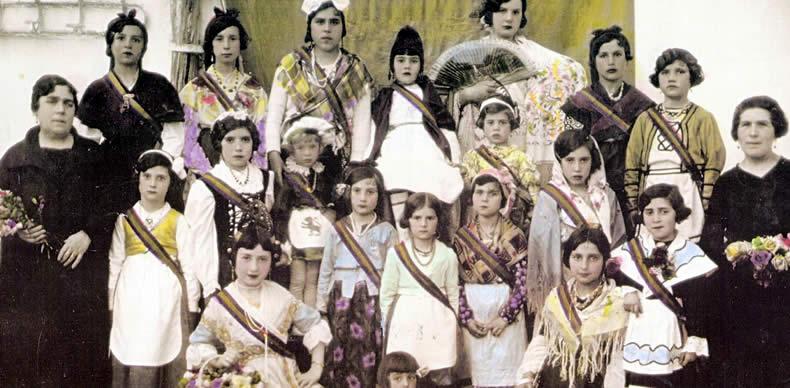 Fiesta escolar para conmemorar el advenimiento de la II República, en la escuela laica de Doña Conchita, en San Vicente del Raspeig (Cercle Sequet Pero Sanet).